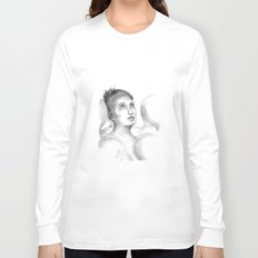 Crowded Silence  Long Sleeve T-shirt