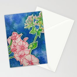 Sweet Spider and Phlox Stationery Cards