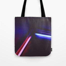 Neon Lights Tote Bag