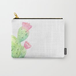 Watercolor Cactus | Buy Watercolor Art | Society 6 Carry-All Pouch