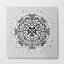 Anatomandala III Metal Print