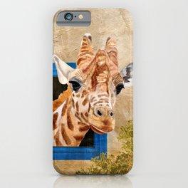 Suddenly A Giraffe iPhone Case