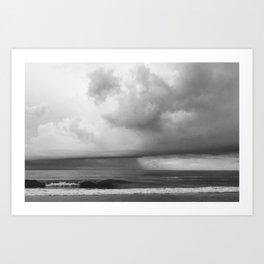 Wrightsville Beach: Summer Storm Art Print