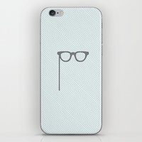 glasses iPhone & iPod Skins featuring Glasses by Mr and Mrs Quirynen