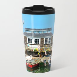 Plymouth Boat House Travel Mug