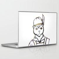 german Laptop & iPad Skins featuring German Kitty by Sofy Rahman