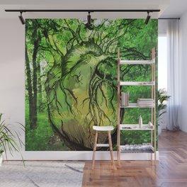 Green Heart of Nature Wall Mural