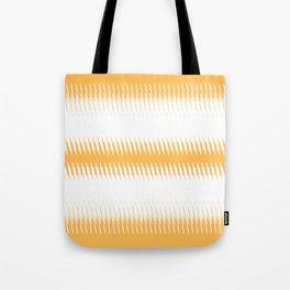 orange ikat  Tote Bag