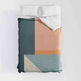 Minimal Abstract 16 Duvet Cover