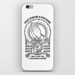Crime and Punishment iPhone Skin