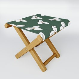 Trilliums Folding Stool