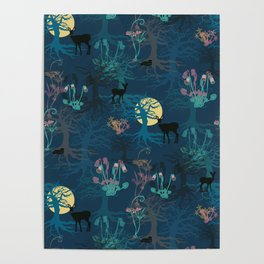 Magical Woodland Poster