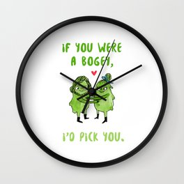If you were a bogey, I'd pick you Wall Clock