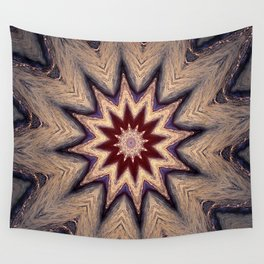Sunset Beach Kaleidoscope  Wall Tapestry