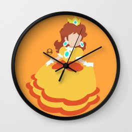 Princess Daisy Deluxe Wall Clock