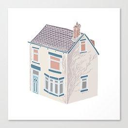 Little Village House Canvas Print