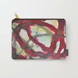UNDER PRESSURE 3 D PAINTING Carry-All Pouch