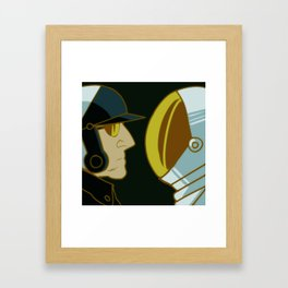 Bad Cop and Benny the Spaceman Framed Art Print
