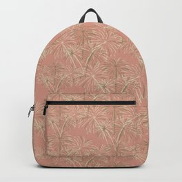 Fireworks Bloom on Coral Backpack