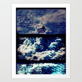 SEA OF CLOUDS Art Print