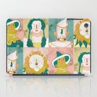 oz iPad Cases featuring Oz by StinkyInky_Jess