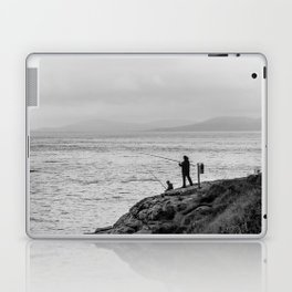 Fishing the Irish Coast Laptop & iPad Skin