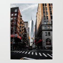 Lower Manhattan One WTC Poster