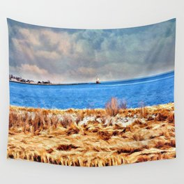 Harbor of Tranquility  Wall Tapestry