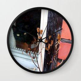 Come Inside Silly Human Wall Clock