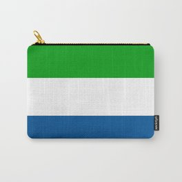 Flag of Sierra Leone Carry-All Pouch