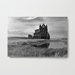 Whitby Abbey  Metal Print
