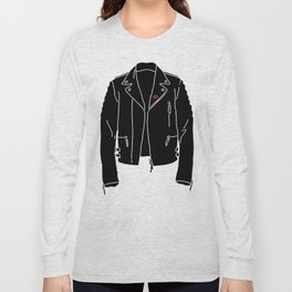 Leather Jacket - HANDSOME DEVIL'S CLUB (3/3) Long Sleeve T-shirt