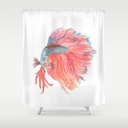 Fish Beauty Shower Curtain