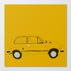 Yugo —The Worst Car in History Canvas Print