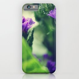 flower close-up ten iPhone Case