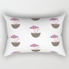 Coconut Umbrellas Rectangular Pillow
