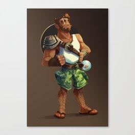 Magnus - Summer Look Canvas Print