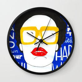 Accept Yourself Wall Clock