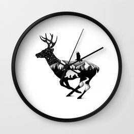 IN THE DUSK Wall Clock