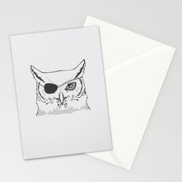 Owl Pirate Stationery Cards