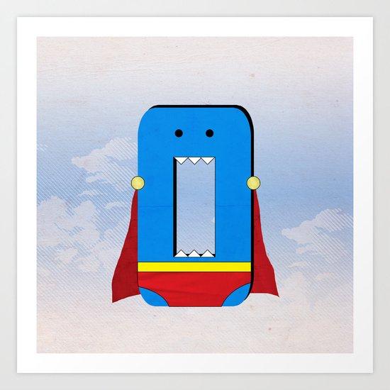 Zero the Hero Art Print