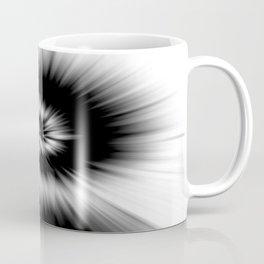 TIE DYE #1 (Black & White) Coffee Mug