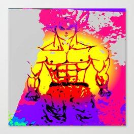 Paint of Goku Canvas Print