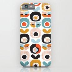 Retro garden apple print iPhone 6 Slim Case