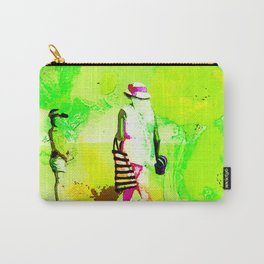 Dans jardin vert pomme Carry-All Pouch