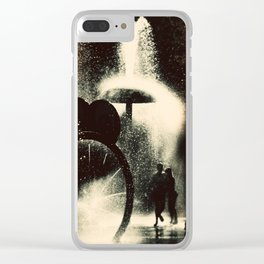 Sumertime Clear iPhone Case