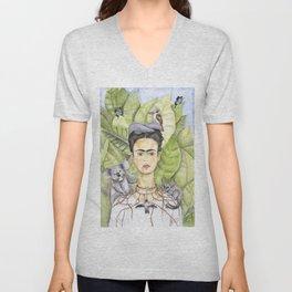 Frida en Australia Unisex V-Neck