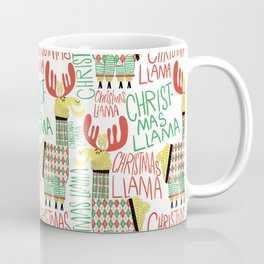 Christmas Llama Coffee Mug