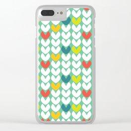 Heartfelt #4 Clear iPhone Case
