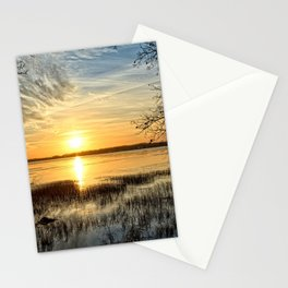 Clear Lake Sunrise Stationery Cards